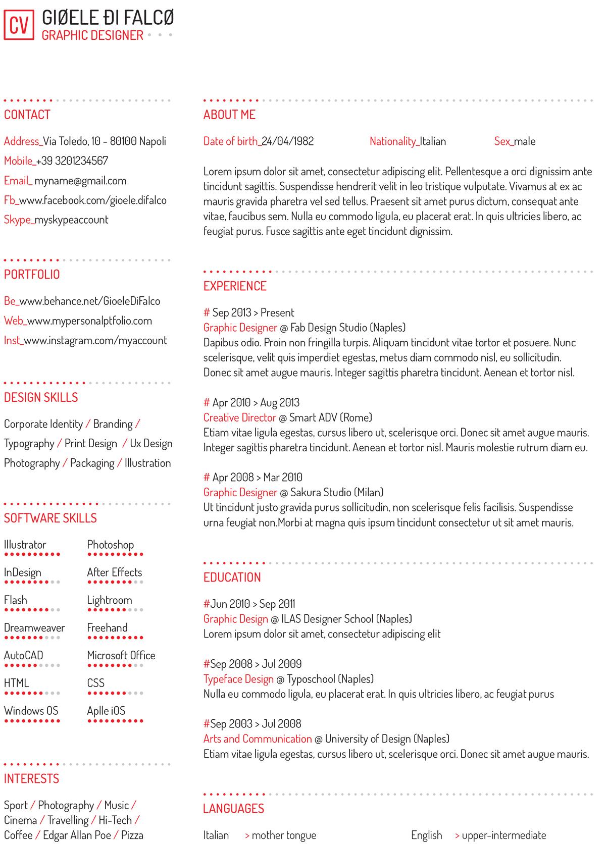 5 consejos para maquetar tu currículum | Pixartprinting