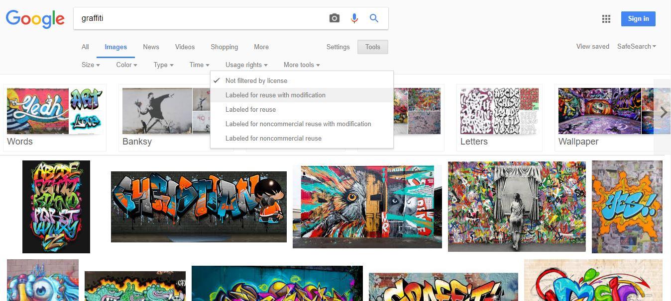 Máscara de búsqueda de fotos gratis en Google