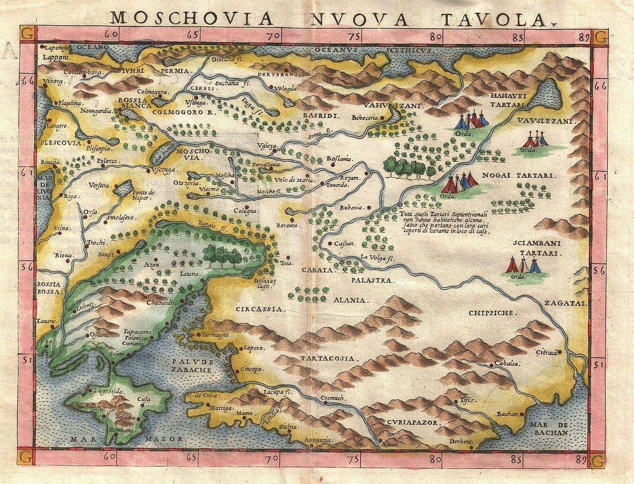 Una foto gratis de un mapa antiguo en el sitio web de imágenes Geographicus