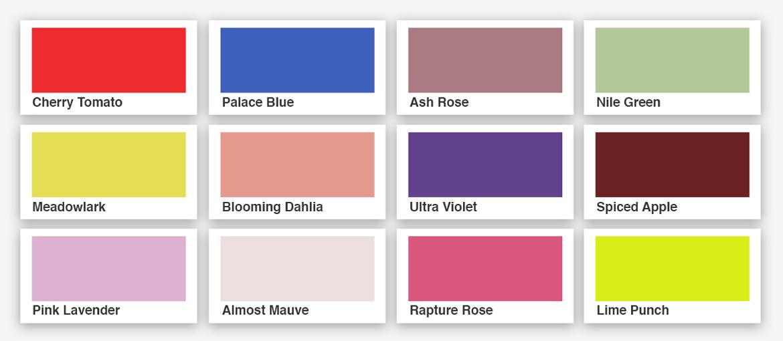 de qu color es el verano los colores pantone del verano 2018 pixartprinting. Black Bedroom Furniture Sets. Home Design Ideas
