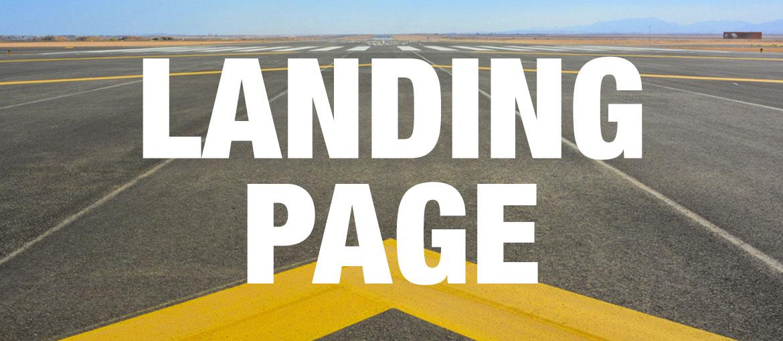 Páginas de aterrizaje