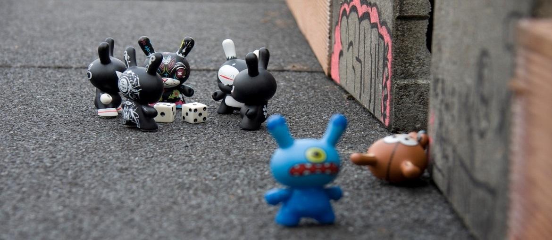 Una escena de animación rodada en stop-motion. Imagen: flickr/Arden [ CC BY-SA-2.0]