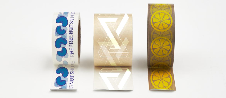 Ejemplos de cintas adhesivas personalizadas